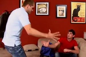 Muscle studs Brandon Lewis and Jayden Grey fuck